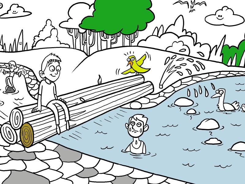 Giochi d'Acqua - COLORing