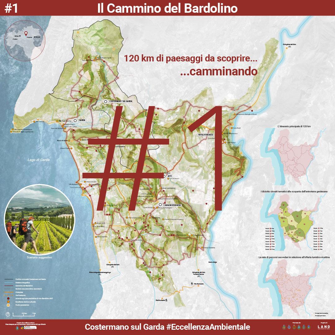 Il cammino del Bardolino. | Presentazione pubblica 5 Agosto 2017 - Manifesto 1 di 8
