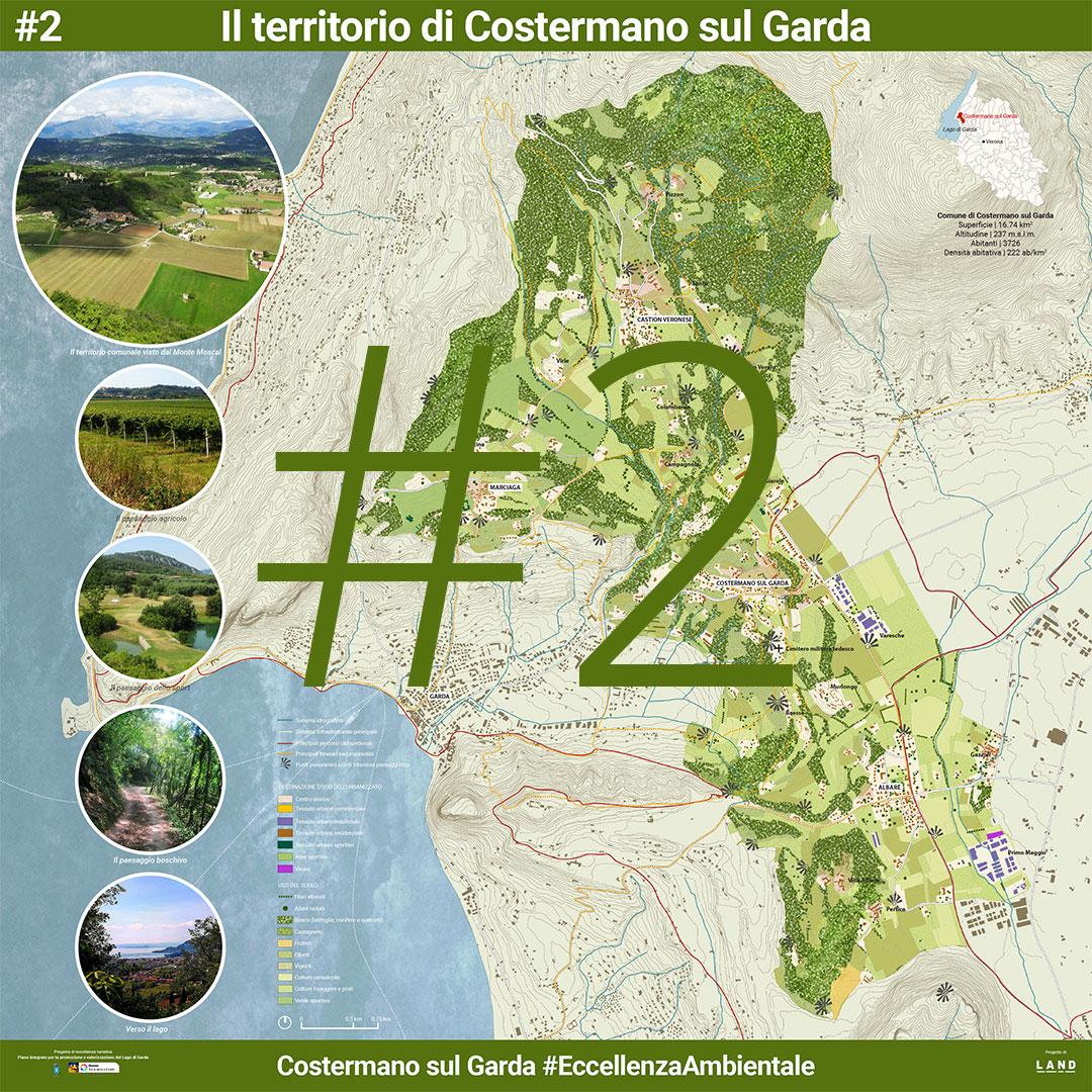 Il territorio di Costermano sul Garda. | Presentazione pubblica 5 Agosto 2017 - Manifesto 2 di 8