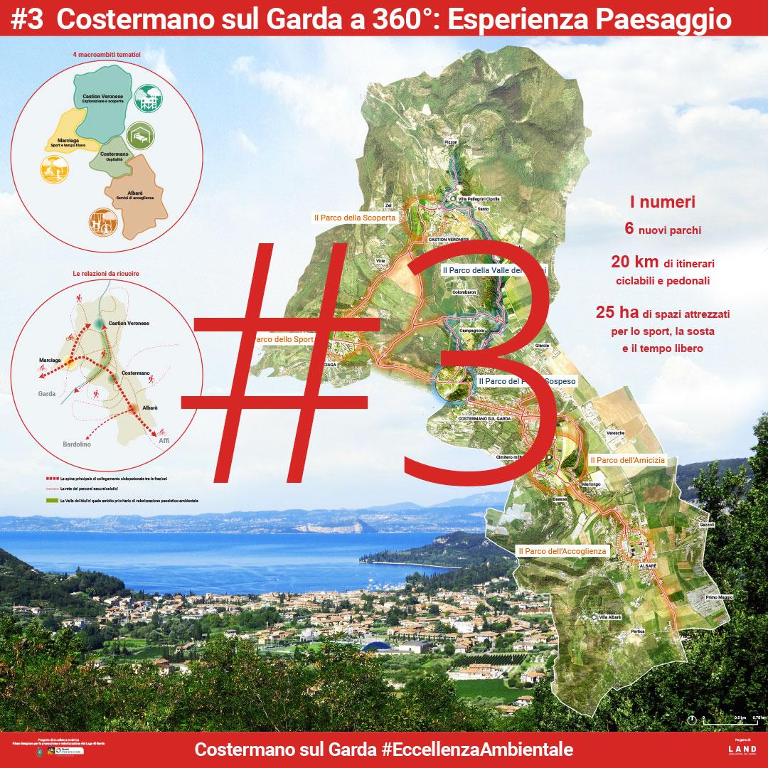 Costermano sul Garda a 360° Esperienza Paesaggio. | Presentazione pubblica 5 Agosto 2017 - Manifesto 3 di 8