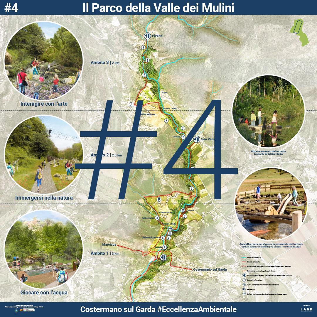 Il parco della Valle dei Mulini. | Presentazione pubblica 5 Agosto 2017 - Manifesto 4 di 8