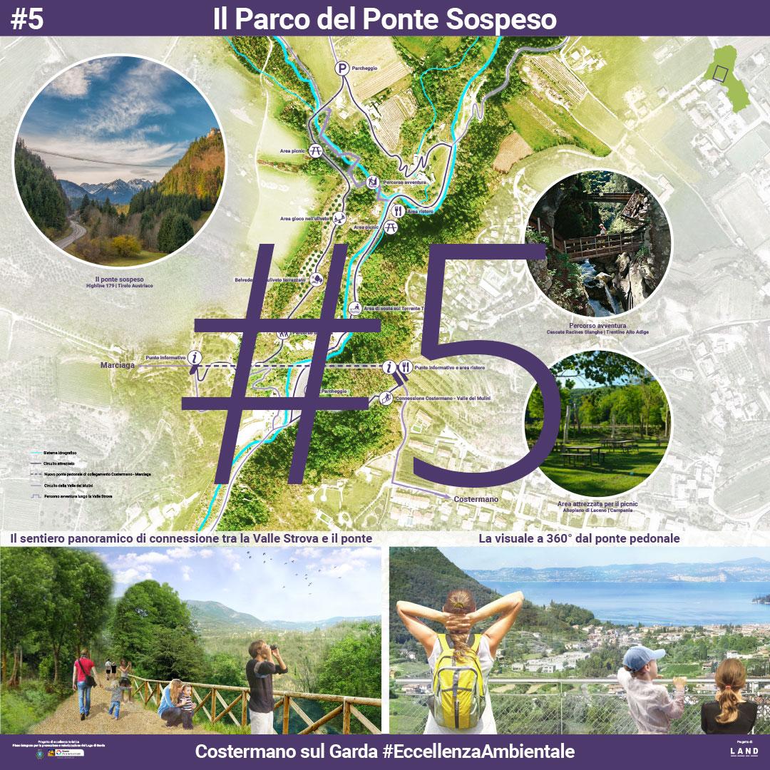 Il parco del Ponte Sospeso. | Presentazione pubblica 5 Agosto 2017 - Manifesto 5 di 8